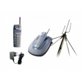 SENAO SN-258 Plus New1 2HS Long range phone up to 5km in kit with outdoor antenna and two handsets
